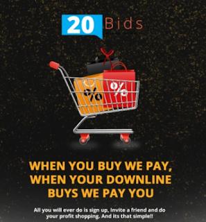 Get free data on 20Bids app | Earn real money online via 20Bids