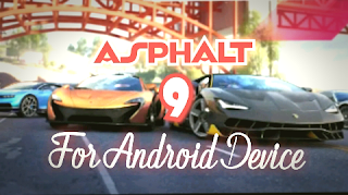 Asphalt 9 apk file OBB