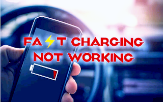 How to fix fast charging not working on Smartphone 4