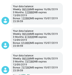 Free awoof 120GB data on MTN   Free unlimited data on MTN