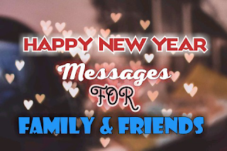 Happy New Year messages | Wishes for Family & friends