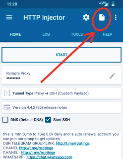 MTN Http injector Config file for April 2020 1