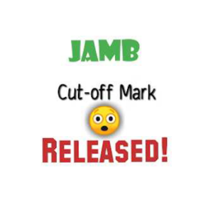 JAMB cut-off mark for admission 2019