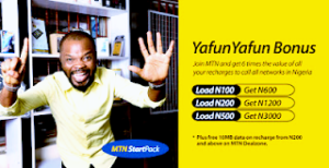 Cheap Tariff plan | MTN YafunYafun cheap data and airtime