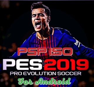 Download PES 2019 ISO File for Android | PSP English version 19