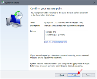 How to restore your windows PC 3