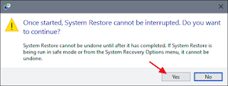 How to restore your windows PC 4