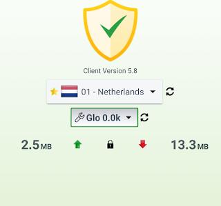 GLO free internet trick | Tweakware VPN 1