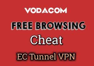 Vodacom free internet trick for SA   EC Tunnel VPN