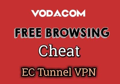 Vodacom free browsing Cheat for SA | EC Tunnel VPN