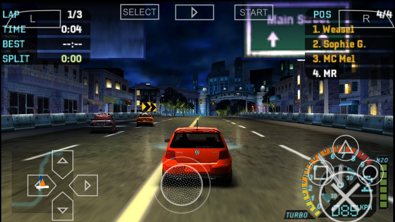 List of Need For Speed PSP games | Highly Compressed ISO download 2