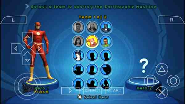 Download Justice league Heroes PSP ISO | Highly compressed 1