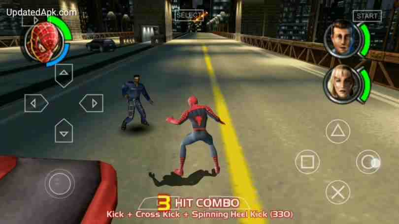 Download Spider-man 3 PSP iso file | Highly compressed 2