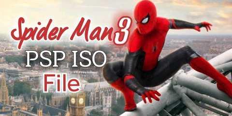 Spider-man 3 PSP iso