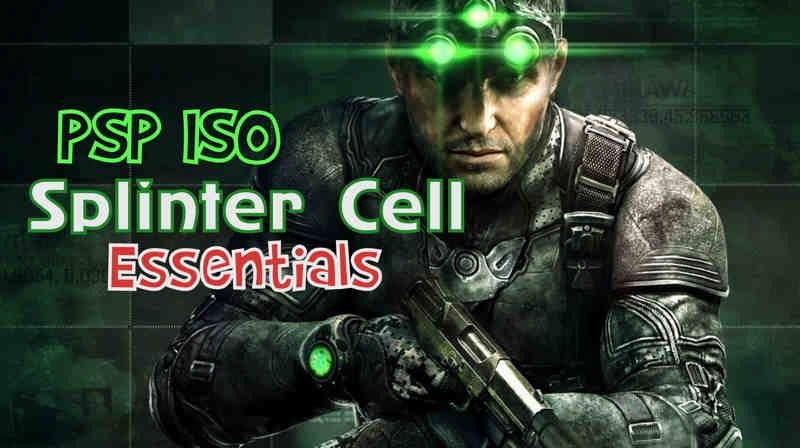 splinter cell essential psp iso