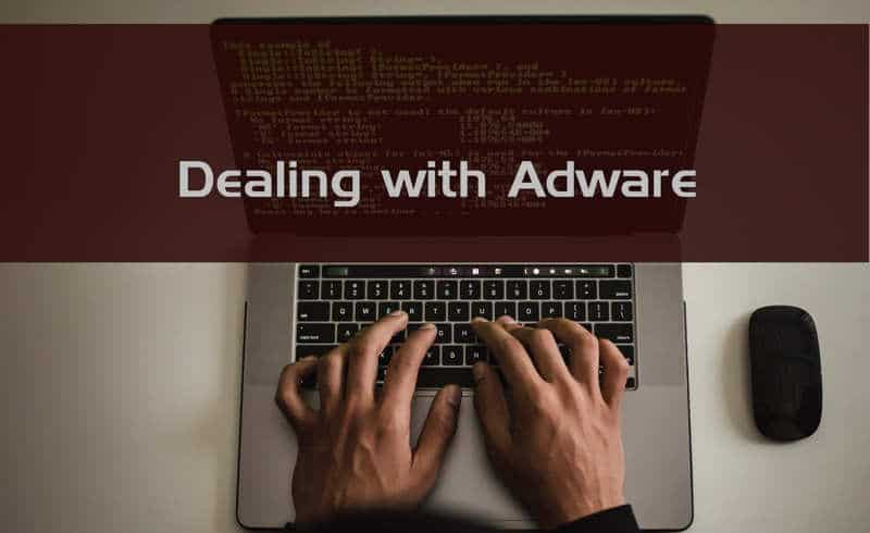 How to deal with adware