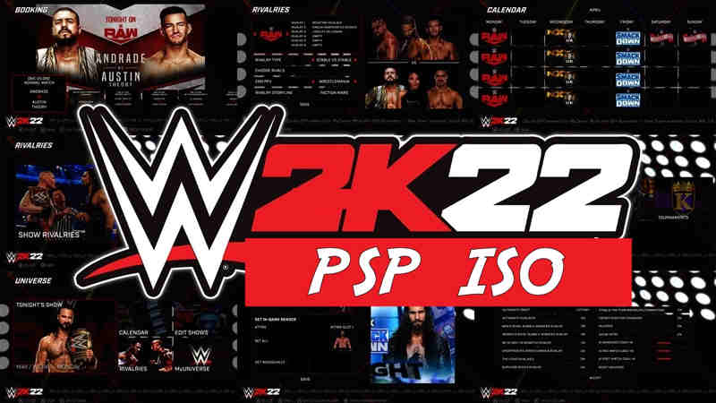 WWE 2K22 PSP ISO